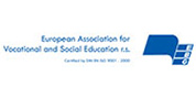 Logo: European Association for Vocational and Social Education r.S.