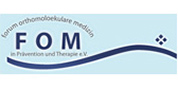 Logo: FOM - Forum Orthomolecular Medicine