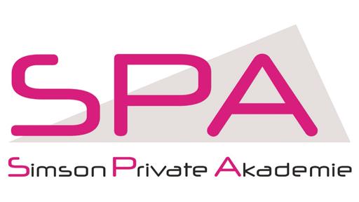 Logo: SPA, Simson Private Akademie gGmbH